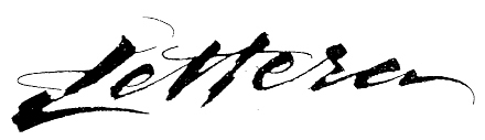 Lettera Masthead